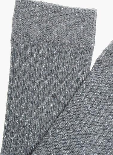 NetWork Çorap Gri